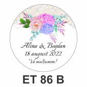Eticheta mica ET 86 B