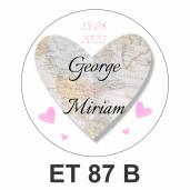 Eticheta mica ET 87 B