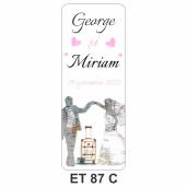 Eticheta pentru sticla ET 87 C
