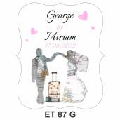 Eticheta pentru sticla ET 87 G