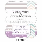 Eticheta pentru sticla ET 90 F
