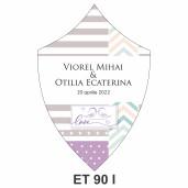 Eticheta pentru sticla ET 90 I