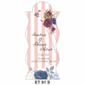 Eticheta pentru sticla ET 91 S