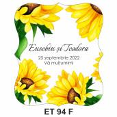 Eticheta pentru sticla ET 94 F