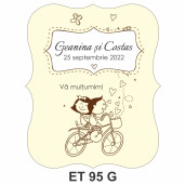 Eticheta pentru sticla ET 95 G