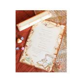 Invitatie de botez papirus 15211