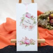 Invitatie de nunta florala 158