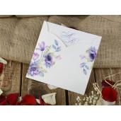 Invitatie cu tema florala 16210 ARMONI
