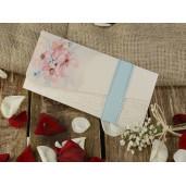 Invitatie cu tema florala 16219 ARMONI