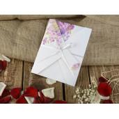 Invitatie cu tema florala 16239 ARMONI