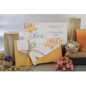 Invitatie cu tema florala 17037 ARMONI