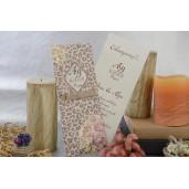 Invitatie florala rustica 17047 ARMONI