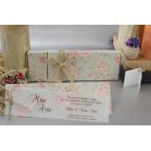 Invitatie florala in cutie 17056 ARMONI