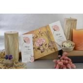 Invitatie florala cu fundita 17059 ARMONI