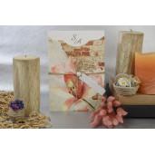 Invitatie florala cu perla 17062 ARMONI