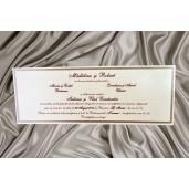 Invitatie de nunta eleganta 1786