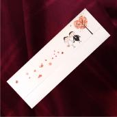 Invitatie de nunta haiaoasa cu miri, fluturasi si inimioare 2136 TBZ