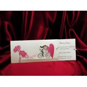 Invitatie de nunta haioasa cu miri 239