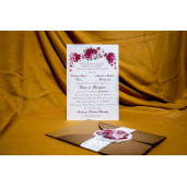 Invitatie de nunta 4009 BUKET-BEST