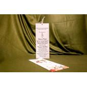 Invitatie de nunta 4018 BUKET-BEST