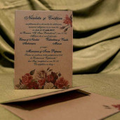 Invitatie de nunta 4028 BUKET-BEST