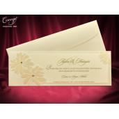 Invitatie de nunta cu flori 5503 CONCEPT