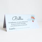 Plic pentru bani cu balon si norisori PB73 - Alb