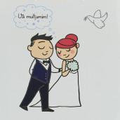 Punga nunta PREMIUM cu miri haiosi PT 30