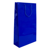 Punga cadouri plastifiata E mare albastra