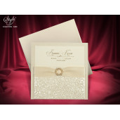 Invitatie de nunta eleganta 3680 SEDEF