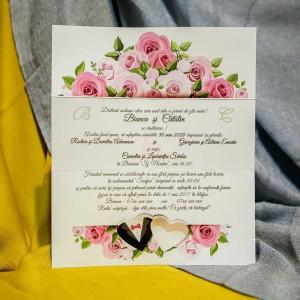 Invitatie de nunta 227 NEW BEST