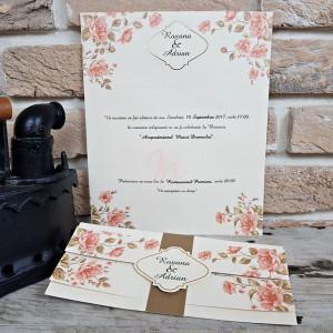 Invitatie de nunta 2706 POPULAR