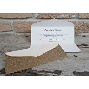 Invitatie de nunta 2728 POPULAR