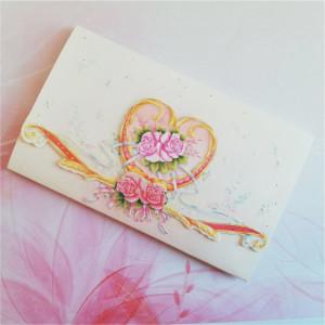Invitatie de nunta model baroque floral 919002 TBZ