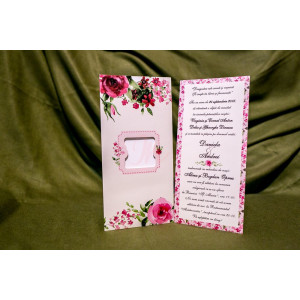 Invitatie de nunta 4029 BUKET-BEST