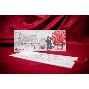 Invitatie de nunta 5012 BUKET-BEST