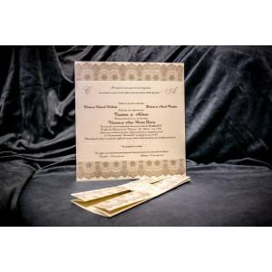 Invitatie de nunta 5026 BUKET-BEST