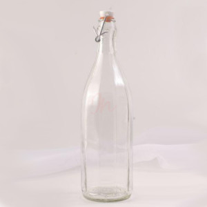 Sticla 1 L Costolata cu sarma