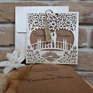 Invitatie de nunta 2680 POPULAR