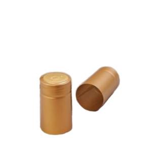 Capison termocontractabil 30*55 mm auriu