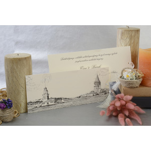Invitatie vintage 17005 ARMONI