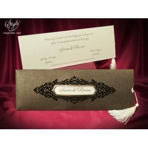 Invitatie de nunta eleganta 3647 SEDEF