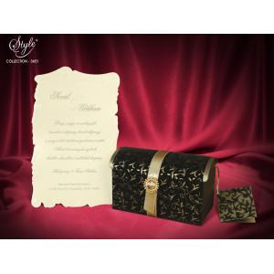 Invitatie de nunta 3D 3651 SEDEF