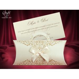 Invitatie de nunta eleganta 3675 SEDEF