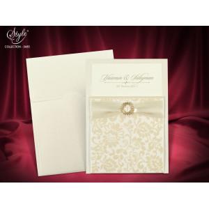 Invitatie de nunta eleganta 3685 SEDEF