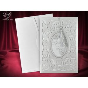 Invitatie de nunta eleganta 3693 SEDEF