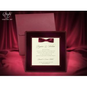 Invitatie de nunta eleganta 3697 SEDEF