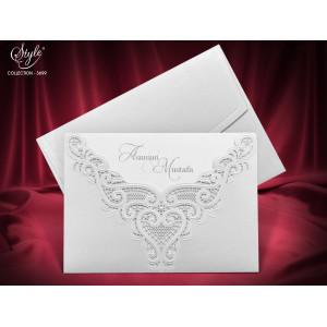 Invitatie de nunta eleganta 3699 SEDEF