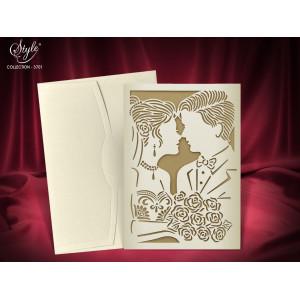 Invitatie de nunta eleganta 3701 SEDEF